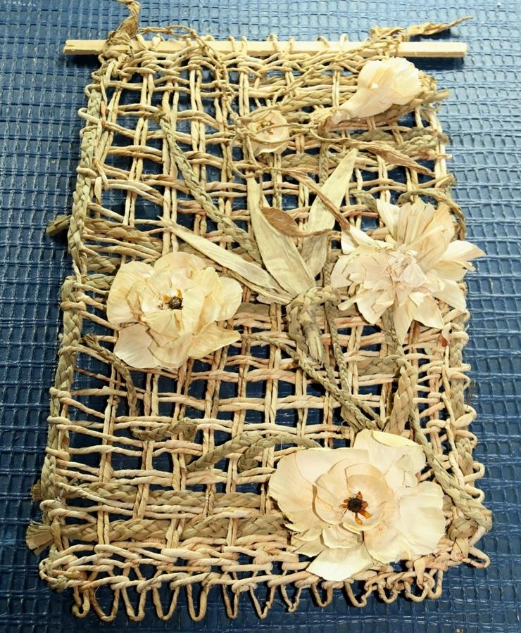 Из кукурузных листьев своими руками